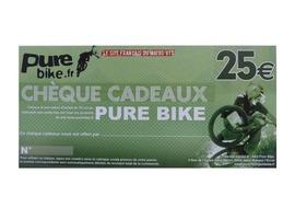 Purebike Gift voucher 25 €