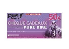 Purebike Gift voucher 50 €
