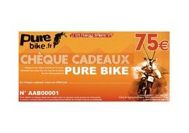 Purebike Gift voucher 75 €