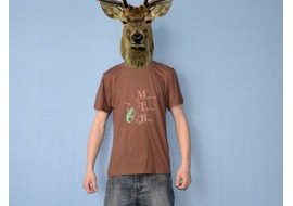 Pure Gear Tee-shirt MTB Spirit Brown