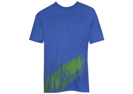 Troy Lee Design Make a Mess Tee Shirt Blue - Size S