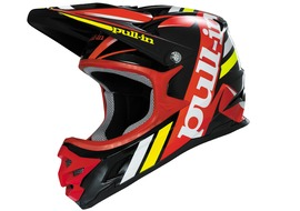 Pull-In BMX-DH Helmet Black / Red 2016