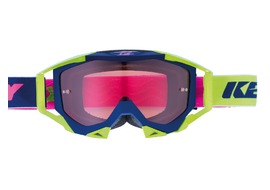 Kenny Titanium Goggle Navy / Lime / Pink