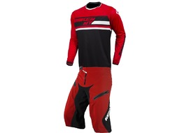 Kenny Defiant Complete Gear Set Red and Black 2017