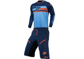Kenny Havoc Long Sleeve Complete Gear Set Blue and Orange 2017