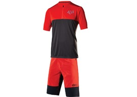 Fox Altitude short sleeve Gear Set Red and Black 2017