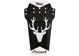 Slicy PureBike Enduro Mudguard - White