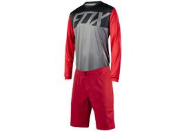 Fox Ranger gear long sleeves Red / Grey 2018