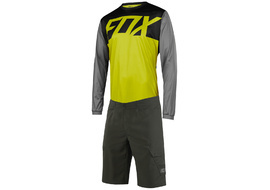 Fox Ranger gear long sleeves Black / Yellow 2018