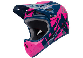 Kenny Down Hill Helmet Blue and Pink - Size XXS 2018