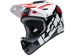 Kenny Down Hill Helmet White and Black