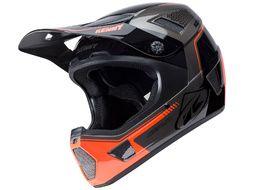 Kenny Scrub Helmet Grey and Orange 2018