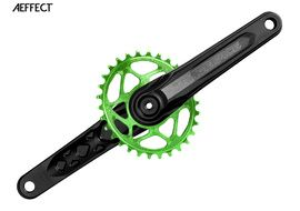Race Face Aeffect Cinch mono Direct Mount crankset + Absolute Black oval ring Green 2018