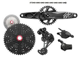 Sram GX Eagle 1x12 speed groupset with Sunrace MZ90 and crankset DUB 32T 2018