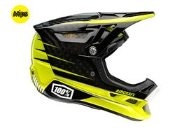 100% Aircraft MIPS helmet Basetech Black and Yellow 2017