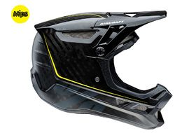 100% Aircraft MIPS Helmet Raw black 2017
