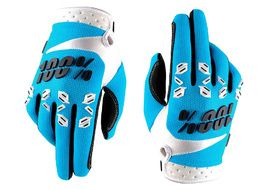 100% Airmatic gloves Blue - Size L 2017