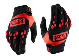 100% Airmatic Gloves - Black and Red 2018