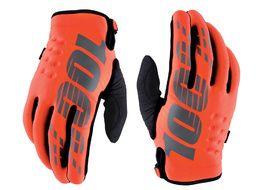 100% Brisker Gloves Orange 2020