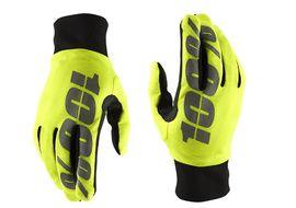 100% Hydromatic Gloves - Neon Yellow 2018