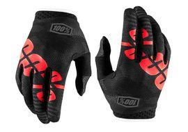 100% iTrack Gloves - Black Camo 2018