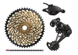 Sram XX1 Eagle Groupset 1X12 speed without crankset Black 2018
