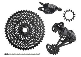 Sram EX1 Groupset 1X8 speed for Bosch engine Black 2018