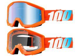 100% Strata Goggle Orange 2018