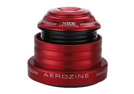 Aerozine tapered Headset (ZS44/28.6 EC49/40) - Red