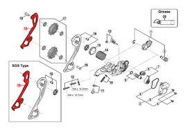Shimano Inner cage for derailleur SLX M670 / M675 / XT M786