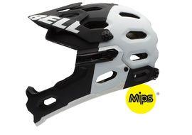 Bell Super 2R MIPS Helmet Matt Black / White Size S 2016