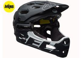 Bell Super 3R MIPS helmet Mat Black / White 2018