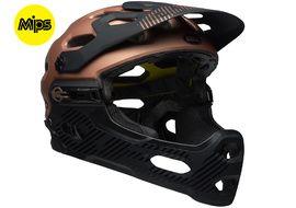 Bell Super 3R MIPS helmet Gloss Copper / Black 2018