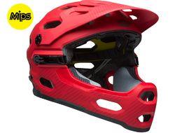 Bell Super 3R MIPS helmet Red 2018