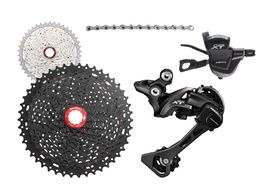 Shimano XT M8000 1x11s groupset with Sunrace MX8 cassette 2019