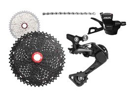 Shimano SLX M7000 1X11 groupset with Sunrace MX8 cassette 11-46 teeth 2018