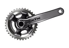 Shimano XTR M9000 2X11 speed crankset 175 mm Grey - 26-36 teeth
