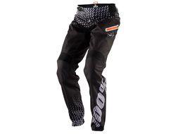 100% R-Core Pant Supra Black and Grey 2018
