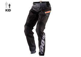 100% R-Core Pant Kid Supra Black and Grey 2018