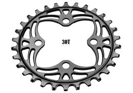 Absolute Black Narrow Wide 64 mm BCD Chainring Black 2018