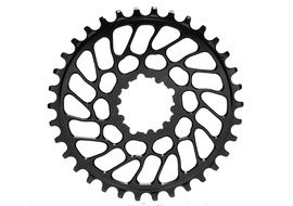 Absolute Black Narrow Wide Sram Spiderless BB30 Chainring Black 2018