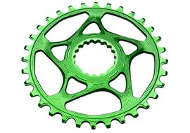 Absolute Black Narrow Wide Cannondale Spiderless Chainring Green 2018
