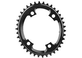 Absolute Black CX Oval Chainring for 110 mm 4 holes Black 2018