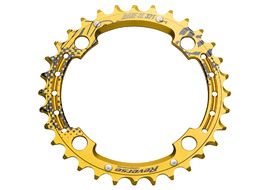 Reverse Components CW shiftable Race SL Chainring Gold