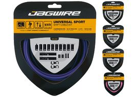 Jagwire Universal Sport shift housing and cables kit