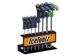 Icetoolz 7M85 T Allen and star keys set