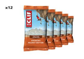 Clif Bar Box of 12 Energy Bar Crunchy Peanut Butter