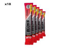 Clif Bar Box of 18 x 6 Shot Bloks Strawberry