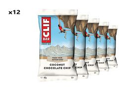 Clif Bar Box of 12 Energy Bar Coconut Chocolate Chip
