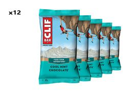 Clif Bar Box of 12 Energy Bar Cool Mint Chocolate